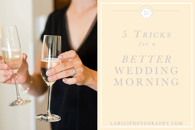 La Rici Photography - better wedding morning tricks - photo